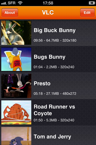 Download VLC video player for iPhone & iPod Touch
