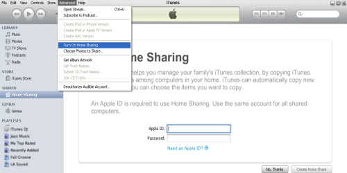 Quick Tip: How to Use Home Sharing in iTunes