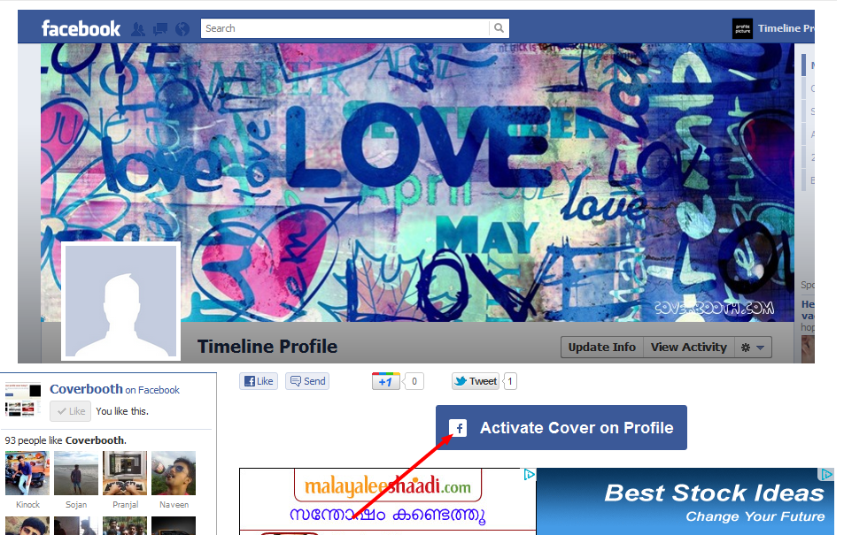 Coverbooth.com | cool Facebook Timeline love Cover