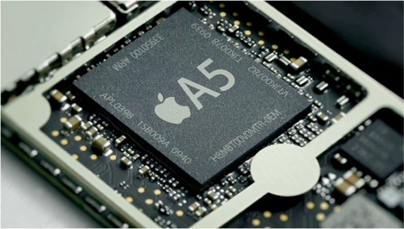 apple-A5-chip-iphone-4s- for faster processing