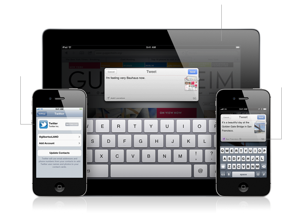 ios 5 twitter features
