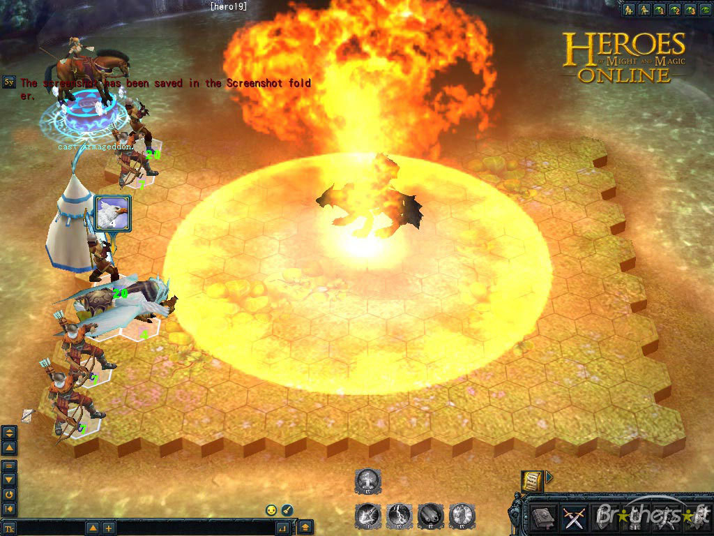 heroes of might and magic online fight begins with a blast