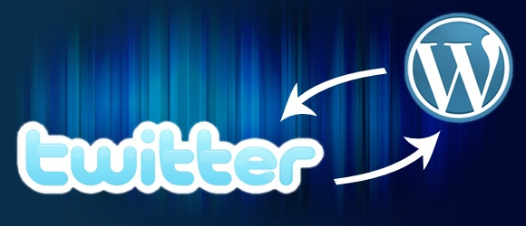 twitter for wordpress