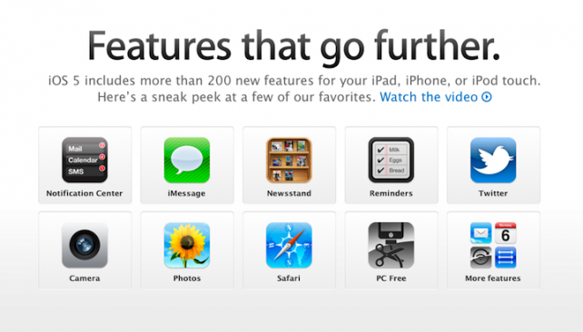 ios5 top features