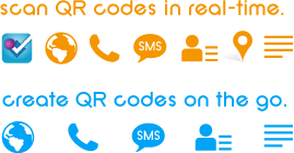 scan and create QR codes in realtime