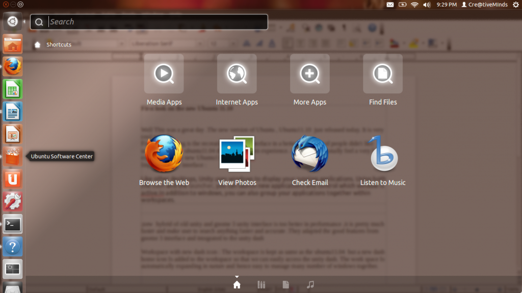 Download application from internet in ubuntu 11.10