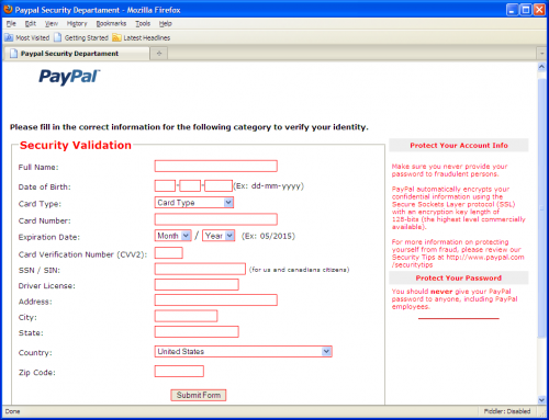 create a new paypal account with new adress
