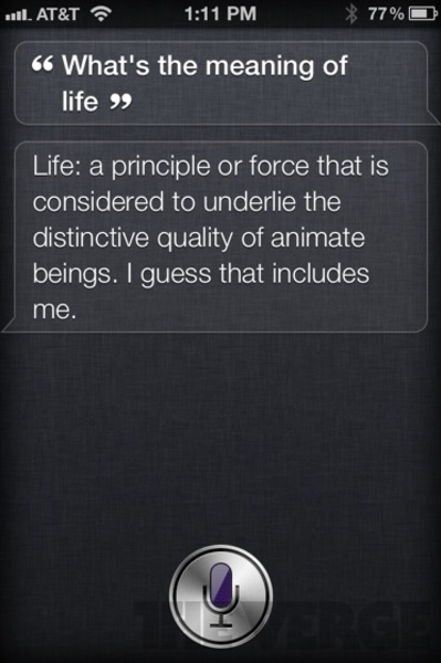 Awesome funny reply by Siri , apple iphone 4s App