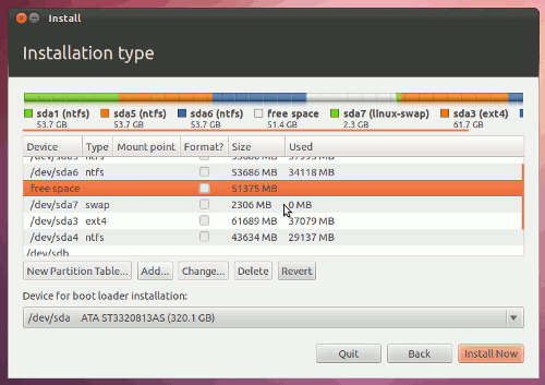 How to Install ubuntu on your laptops - Prepare a Partition for Ubuntu - galery image 5