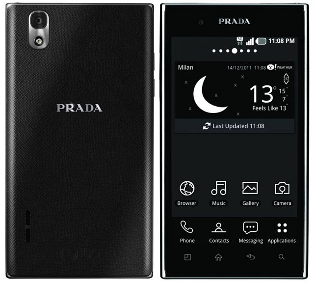 LG 3.0 Prada Phone , best android mobile and smartphone