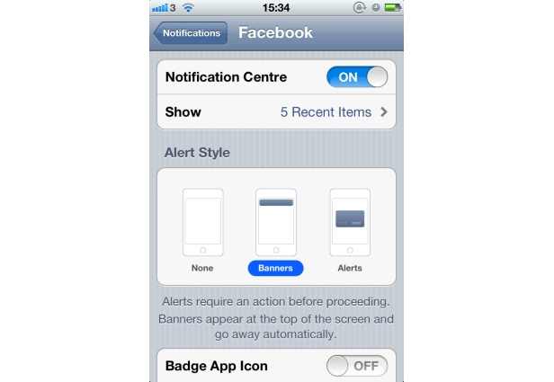 Optimize your facebook iphone application alerts