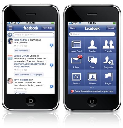 facebook iphone application [update]