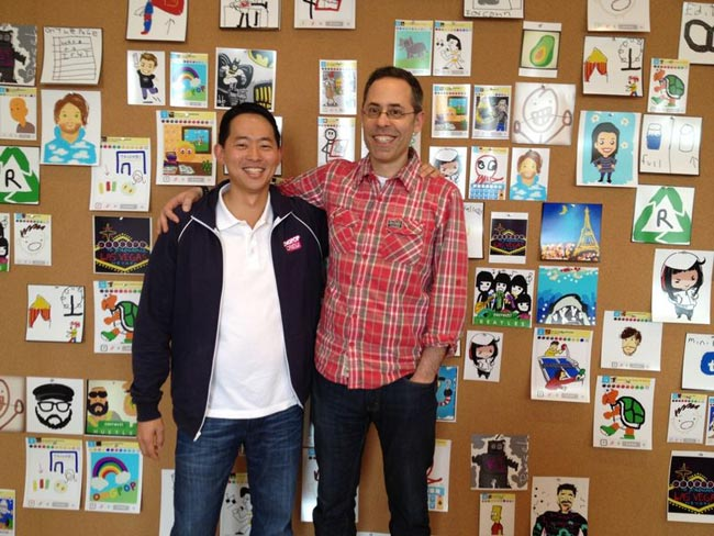 zynga buys omgpop - David Ko, chief mobile officer, Zynga & Dan Porter, CEO, OMGPOP