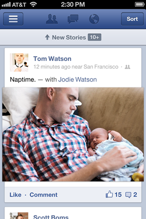 facebook app update for ios and android