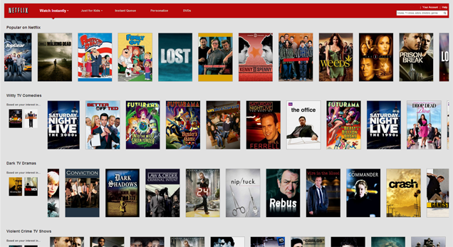 Netflix : watch tons of new and latest movies for just 7$ a month