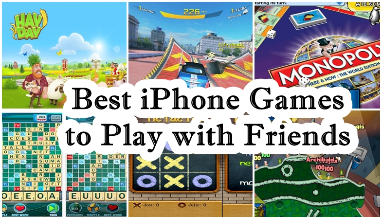 45 iPhone Games You Can Play With Friends « iPhone.AppStorm