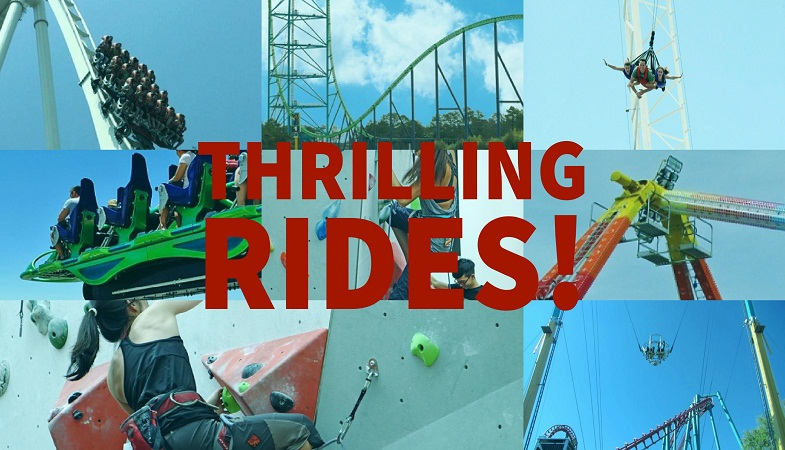 most thrilling rides