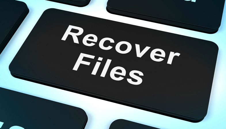 recover lost data