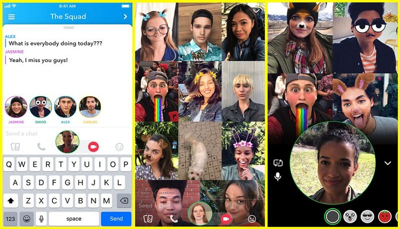 How to use snapchat video call